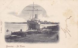 PUGLIA6  --  BRINDISI  --  IL PORTO  --  SHIP  --  1902 - Brindisi