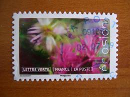 France  Obl  N° 1716 Cachet Rond Bleu - Autoadesivi