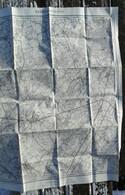 Meting 1911 STAFKAART ZEDELGEM ZERKEGEM SNELLEGEM AARTRIJKE VELDEGEM KNESSELARE JABBEKE WIJNENDALE ZUIDWEGE TORHOUT S203 - Zedelgem