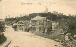 CHATEAUFORT  L'église Vue Prise De La Trinité - Altri Comuni