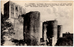 30- Loches - Le Donjon, Monument Historique Du XIII Siecle, Attribué A Foulques Nerra - Loches