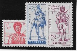 Mauritanie N°116/118  - Neufs ** Sans Charnière - TB - Unused Stamps