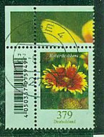 BUND---Kokardenblume ,gestempelte Ecke - Gebraucht