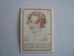 België Belgique Belgium 1985 Koningin Reine Astrid Yv Cob 2183 MNH ** - Nuevos