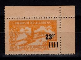 Algerie - Variete Colis Postaux N** Luxe YV 196 Sans Surcharge Contrôle - Paquetes Postales