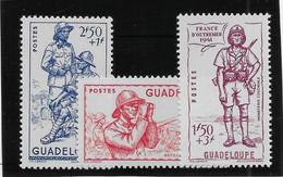 Guadeloupe N°158/160  - Neufs ** Sans Charnière - TB - Ungebraucht