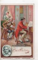 Cpa.Publicité.Bensdorp's Cacao Amsterdam.Beethoven. - Reclame