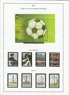 Belgique 3506 à 3509 + 3514 à 3517 + BF 113 Football Année 2006 - Ohne Zuordnung