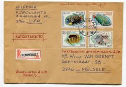R Enveloppe HERENTALS 1 - Mooie Stempels  -  Aangetekend - Recommandé - Registered - Covers & Documents
