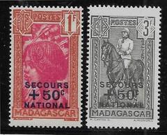 Madagascar N°232/233  - Neufs ** Sans Charnière - TB - Ongebruikt