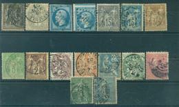 France - Lot Timbres Oblitérés - Sammlungen