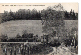 NOGENT-le-ROTROU (E.-et-L.) - La Plante - Arrivée Du Tramway - Nogent Le Rotrou