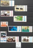 D - [855738]TB//**/Mnh-c:13e-Zaïre 1994 - N° 1401/09-YVERT, Surchargés, Animaux, Félins, Espace, Oiseaux, Jeux Olympique - 1990-96: Mint/hinged