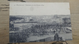 MONTPELLIER : Panorama Pris Du Chateau D'eau  ................ 201101-525 - Montpellier