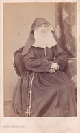 CDV - Soeur Josephine- Sotteghem- Zuster Sottegem - Phot. Alphonse Plumier, Liège - Oud (voor 1900)