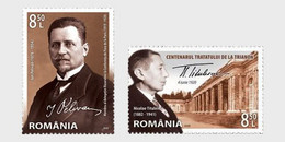 Romania Rumänien Delivery Within 4 Weeks MNH ** Ru 2020 - 114 The Peace Treaties Of Paris 1919-1920 - Ungebraucht