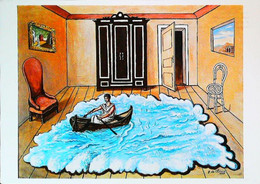 ►◄ GIORGIO DE CHIRICO Le Retour D'Ulysse - Malerei & Gemälde