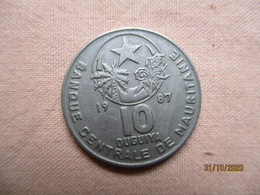 Mauritanie: 10 Ouguiya 1987 - Mauritania