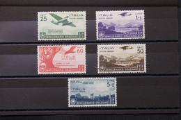 ITALIE - Série Complète Poste Aérienne N° 91 / 95 Neufs * Cote 120€ - L 75213 - Airmail