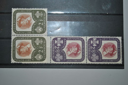Luxembourg 1957 Scoutisme Paires MNH - Neufs