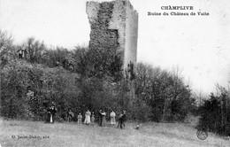 CHAMPLIVE (Doubs) -  Ruine Du Château De Vaite. Edition Janier-Dubry. Non Circulée. Bon état. - Other Municipalities