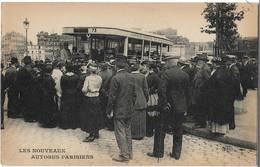 PARIS - Les Nouveaux Autobus Parisiens - Le Deley - Carte Postale Ancienne - Nahverkehr, Oberirdisch