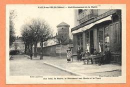 VAULX En VELIN (Rhône) -- Café Restaurant De La Mairie - Jeux De Boules - Vaux-en-Velin