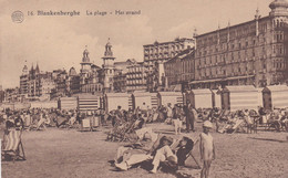 16 - Blankenberghe - La Plage - Het Strand - Blankenberge