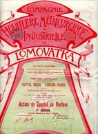 LOMOVATKA - Houillère Métallurgique & Industrielle - Russia