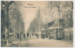 2c.645.  MONZA - Viale Per Vedano - Tram!!! - Monza