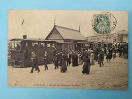 CANCALE - Arrivée Du Tramway à La Houle - Cancale