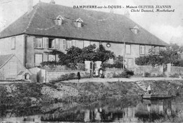 DAMPIERRE-sur-le-DOUBS - Maison OLIVIER-JEANNIN. Cliché Dumond. Circulée En 1918. Bon état. - Other Municipalities
