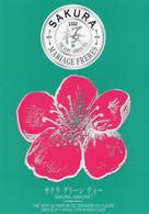CPM - J -  MARIAGE FRERES - MAISON DE THE - SAKURA - THE VERT AU PARFUM DE CERISIERS EN FLEURS - Shops