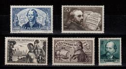 YV 541 / 542 / 543 / 544 / 545 N** Cote 6,60 Euros - Unused Stamps