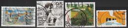 2020: Bund Mi.Nr. 3519, 3541, 3567 + 3568  Gest. (d097) / Allemagne Y&T No. 3294, 3316, ? + ? Obl. - Used Stamps