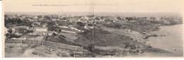 SENEGAL-DAKAR-CPA- Double VUE PANORAMIQUE 35/Lettre-5 AOUT 1918 - Covers & Documents