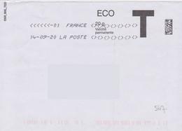 Toshiba Du 14-09-20 (suffixe 01) 7 Signes Inférieurs Et Sup Lettre T Absence Paramétrage Nvle Mise En Service En Savoie - Maschinenstempel (Sonstige)