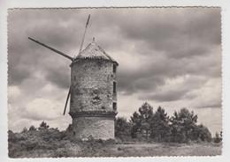 CPSM Environs De Redon - Moulin à Vent (très Certainement à La Roche-Bernard) - La Roche-Bernard