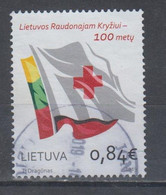 Lithuania 2019 Mi 1313 Used Red Cross - Lituania