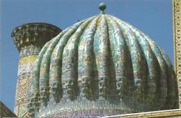 (UZBEKISTAN) SAMARKAND, SHER DOR MADRASAH - New Postcard - Uzbekistan