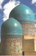 (UZBEKISTAN) SAMARKAND, DOMES OF SHAKHI-ZINDA ENSEMBLE - New Postcard - Uzbekistan