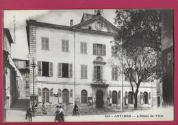 HOTEL DE VILLE TTBE TOP MN M N 455 MAIRIE Le Cycliste Les Passants La Coche L Horloge 1060 ANTIBES A134 - Non Classificati