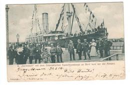 Deutsche Post In China , Interessante Ansichtskarte , 1902 - Offices: China