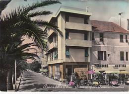 PIETRA LIGURE-PENSIONE=SANTINA=-CARTOLINA VERA FOTOGRAFIA- VIAGGIATA IL 29-8-1954 - Savona