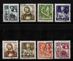 PORTUGUESE MACAU 1951 Personalities Set Used (STB1#13) - Gebruikt