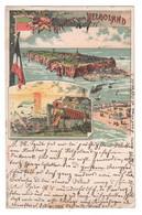 Lithokarte Von Helgoland 1898 , Etwas Fleckig - Zonder Classificatie