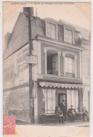 CPA   Gisors (27)  Très Rare Café De Gournay  V.  Mutel Au Rendez-Vous Des Cyclistes - Gisors