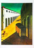 ►◄  CHIRICO  Mélancolie Et Mystère D'une Rue - Malerei & Gemälde