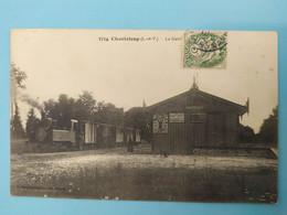 CHANTELOUP - Train En Gare - Sonstige Gemeinden