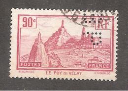 Perforé/perfin/lochung France No 290 BP Banque De Paris Et Des Pays Bas (147) - Gezähnt (Perforiert/Gezähnt)